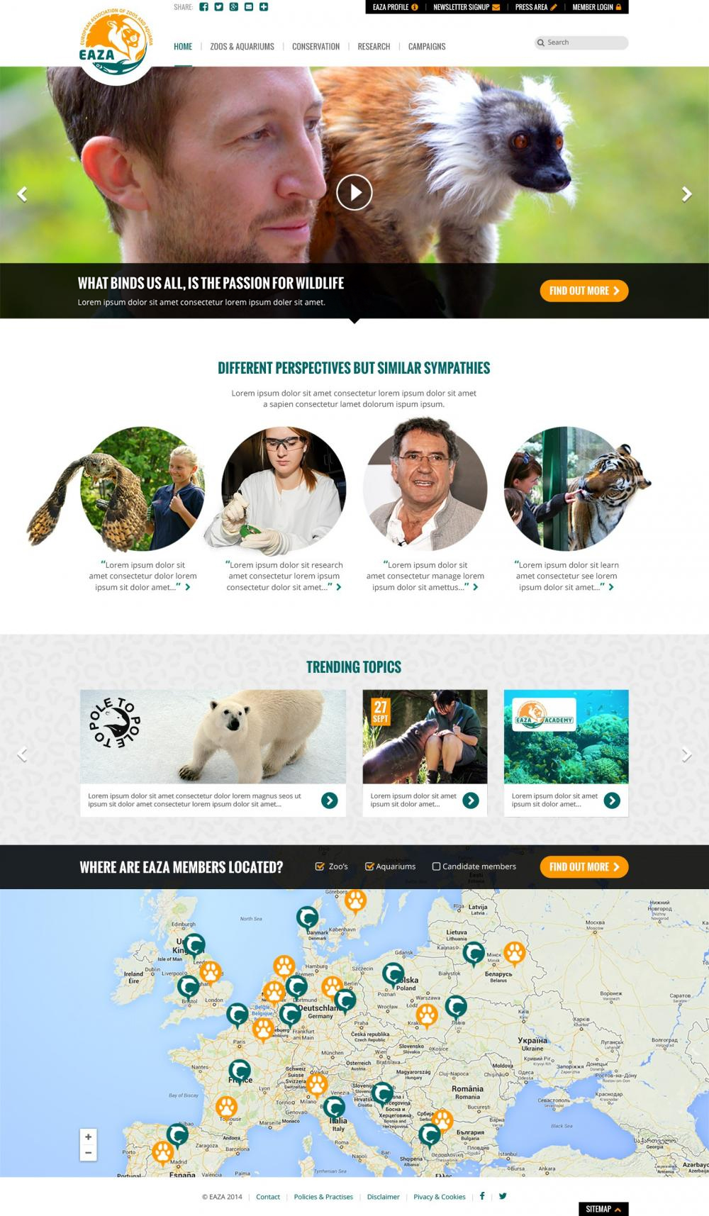 Webdesign website redesign - Internetbureau Amsterdam
